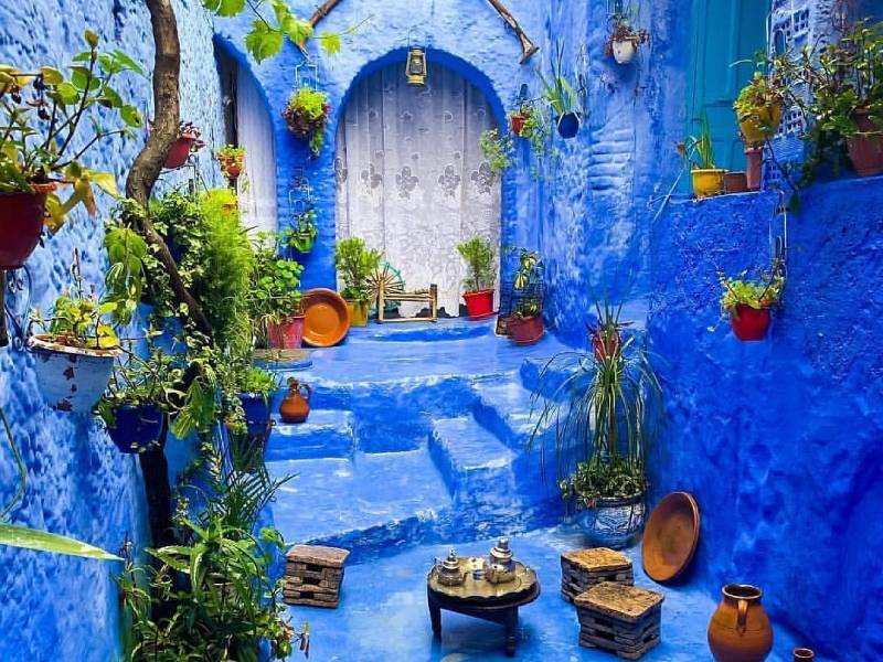 Morocco Blue City, a World Bathed in Blue